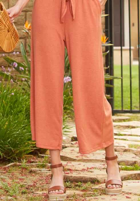Tansy Stretchy Straight Pants