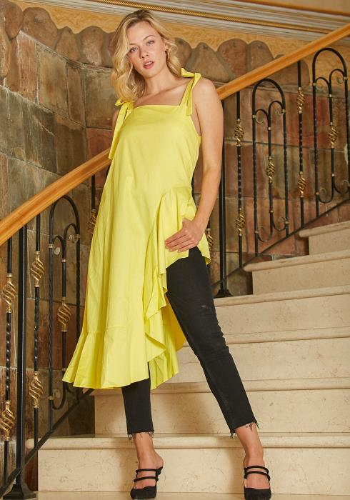 Tansy Asymmetrical Tunic Top