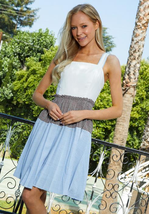 Tansy Multi Print Midi Dress