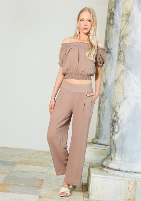 Tansy Off Shoulder Top & Pants Set