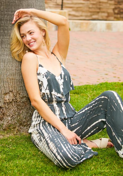 Tansy Tie Dye Jumpsuit