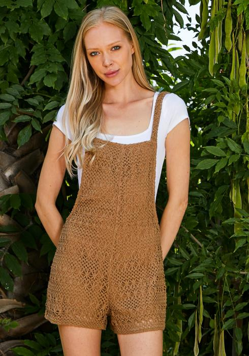 Tansy Knitted Overalls