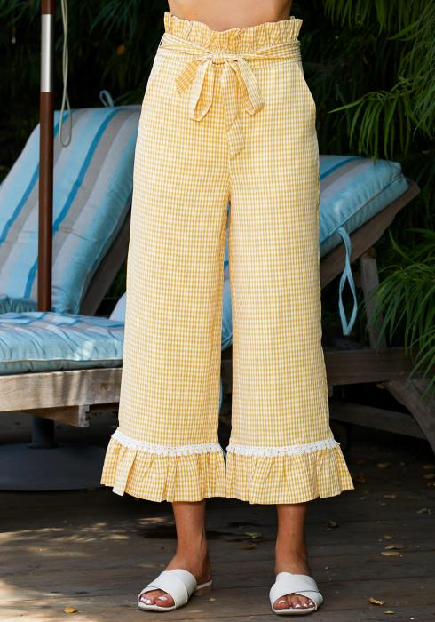 Tansy Ruffle Waist Pants