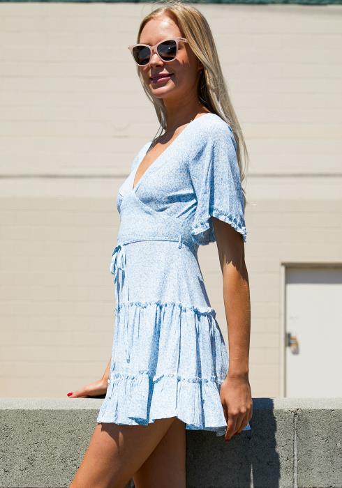 Tansy V-Neck Sweet Girl Dress