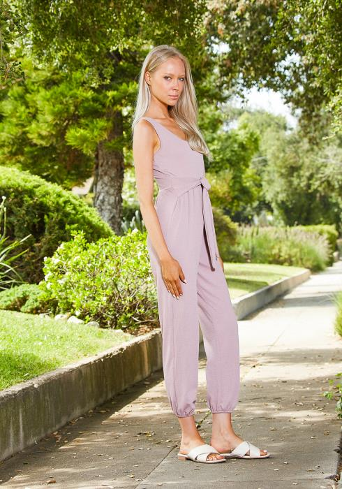 Tansy Tie Waist Jumpsuit
