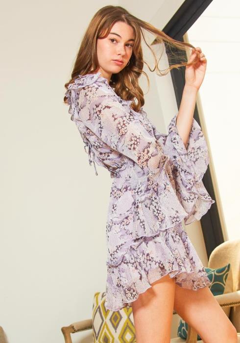 Tansy Dreamy Lilac Womens Dress