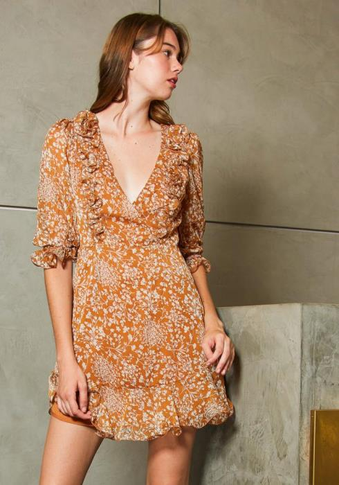Tansy Summer in November Womens Dress