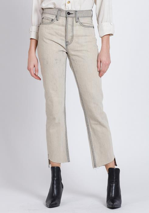 NOEND CLAUDE - HIGH RISE STRAIGHT CROP