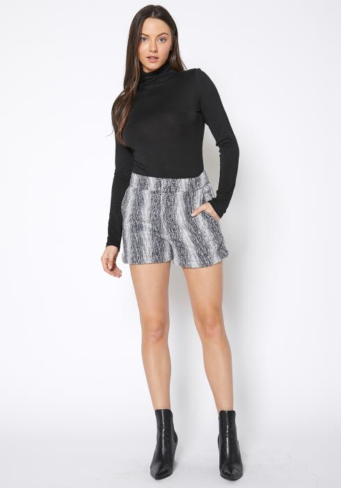 Ro & De Brushed Wool Shorts