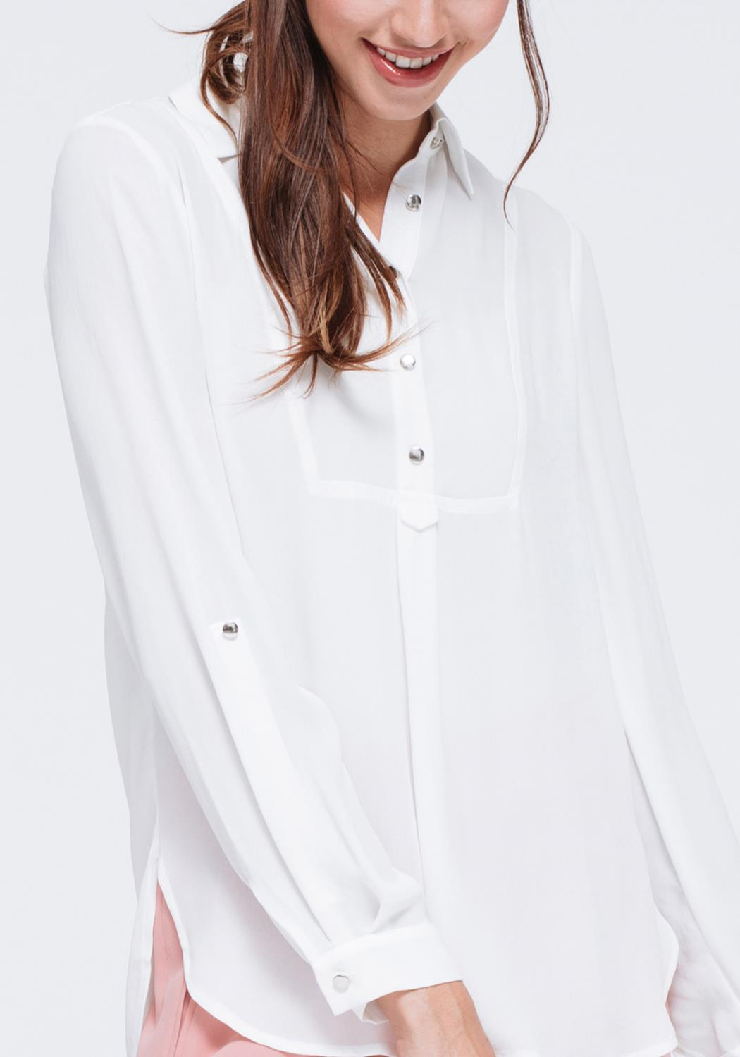 Button Down Chic Blouse
