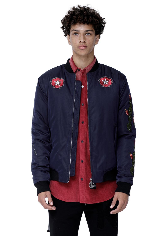 Konus Rosin Men Clothing Embossed Jacket