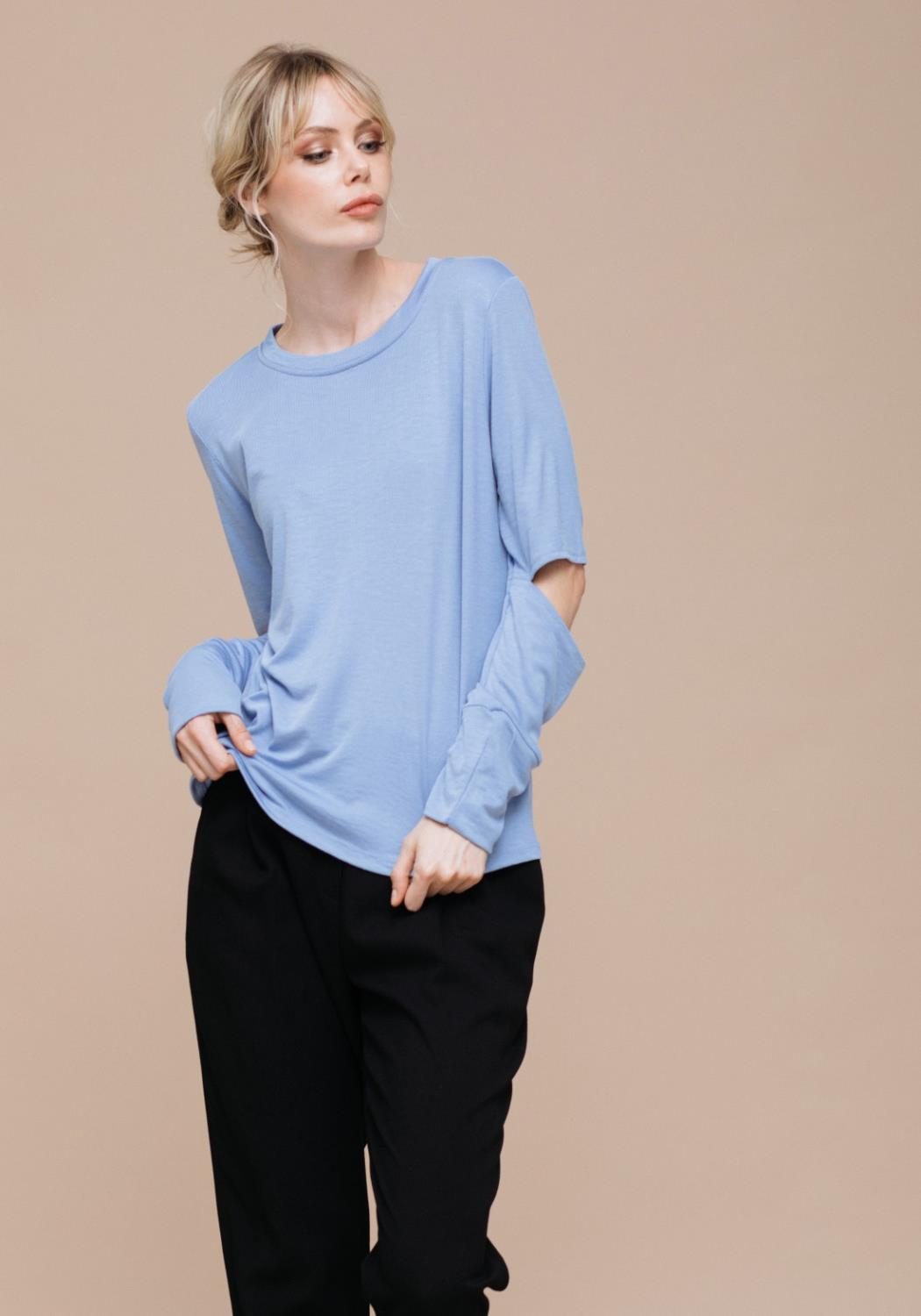 Airy Elbow Thermal Top