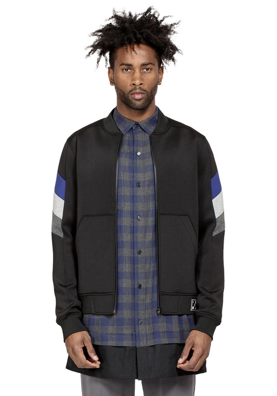 Konus Men Clothing Georgia Bomber Jacket