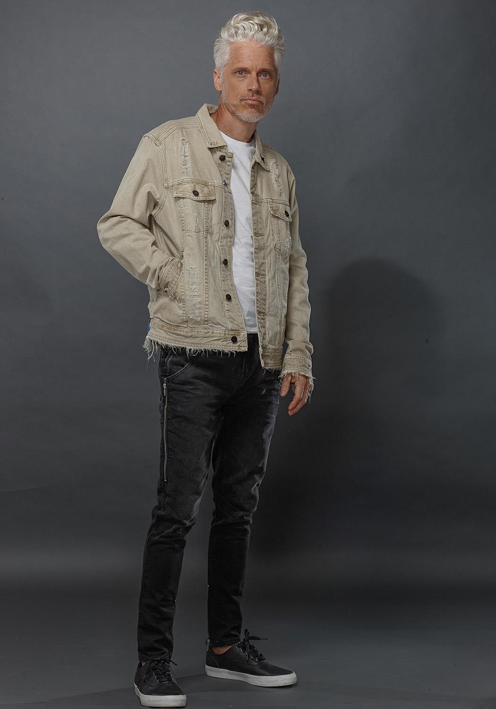 Konus Aries Denim Men Clothing Jacket