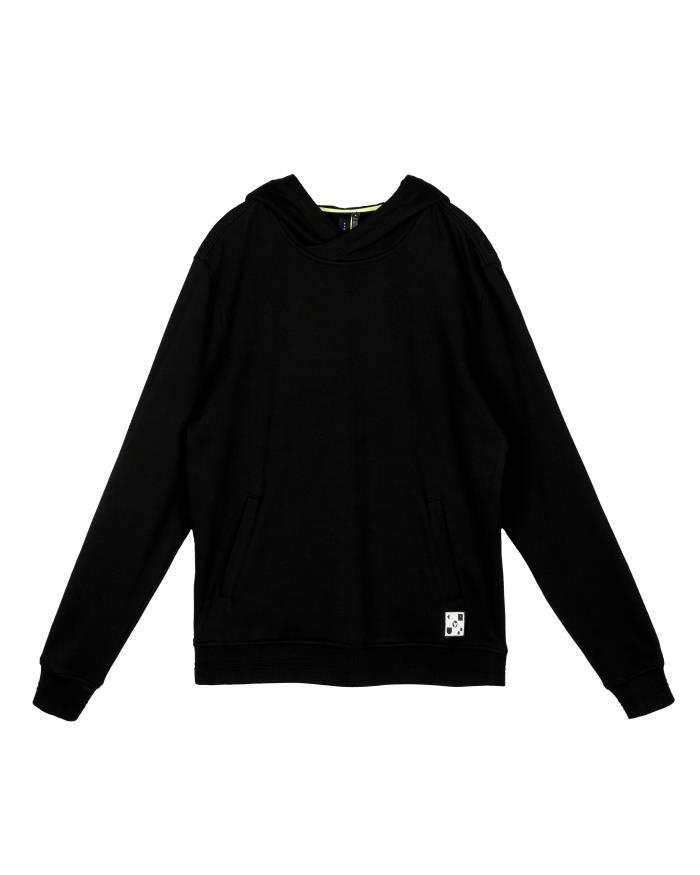 Konus Pullover Hoodie with Big Logo Print on Back