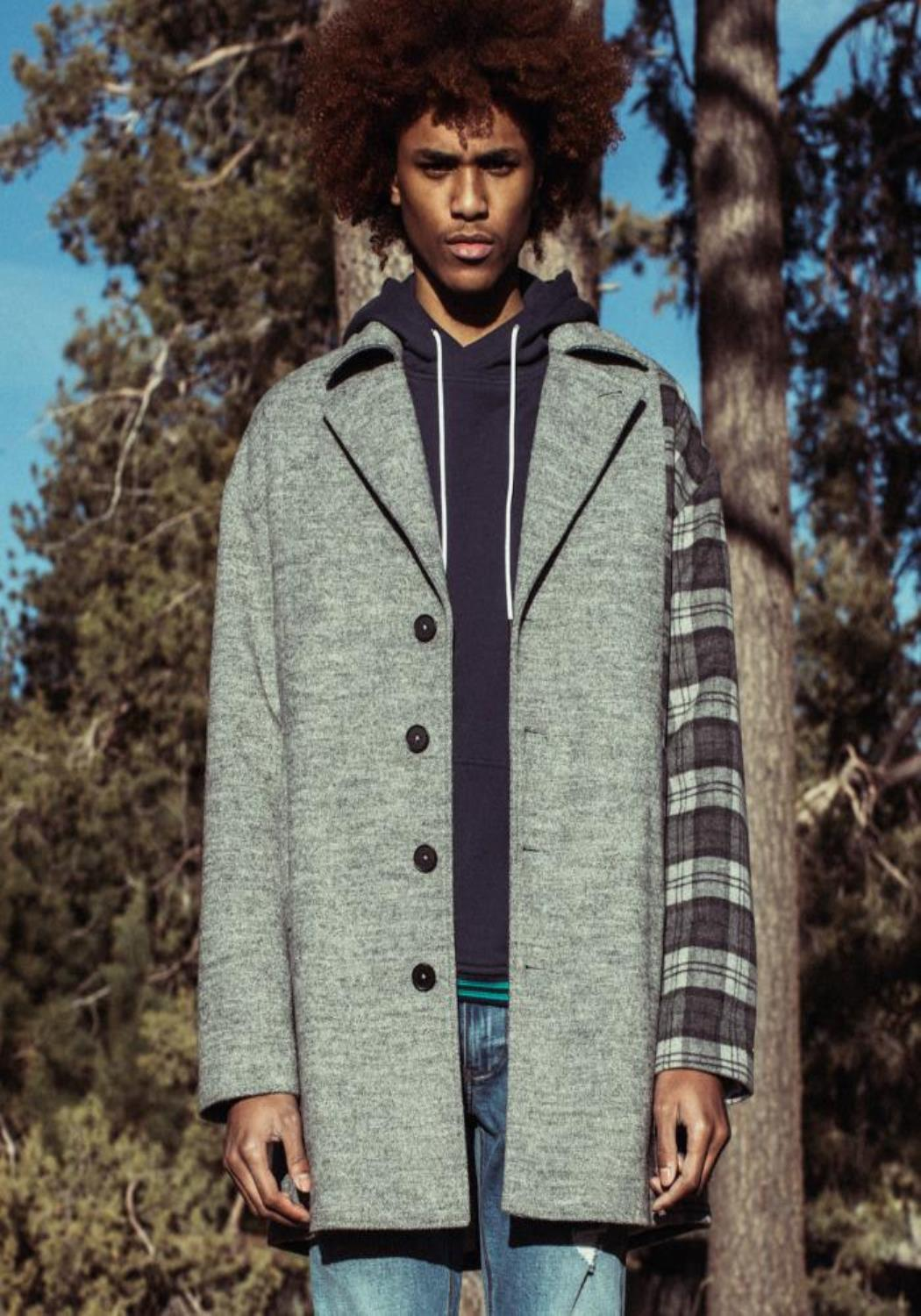 Konus Oversized Wool Blend Coat