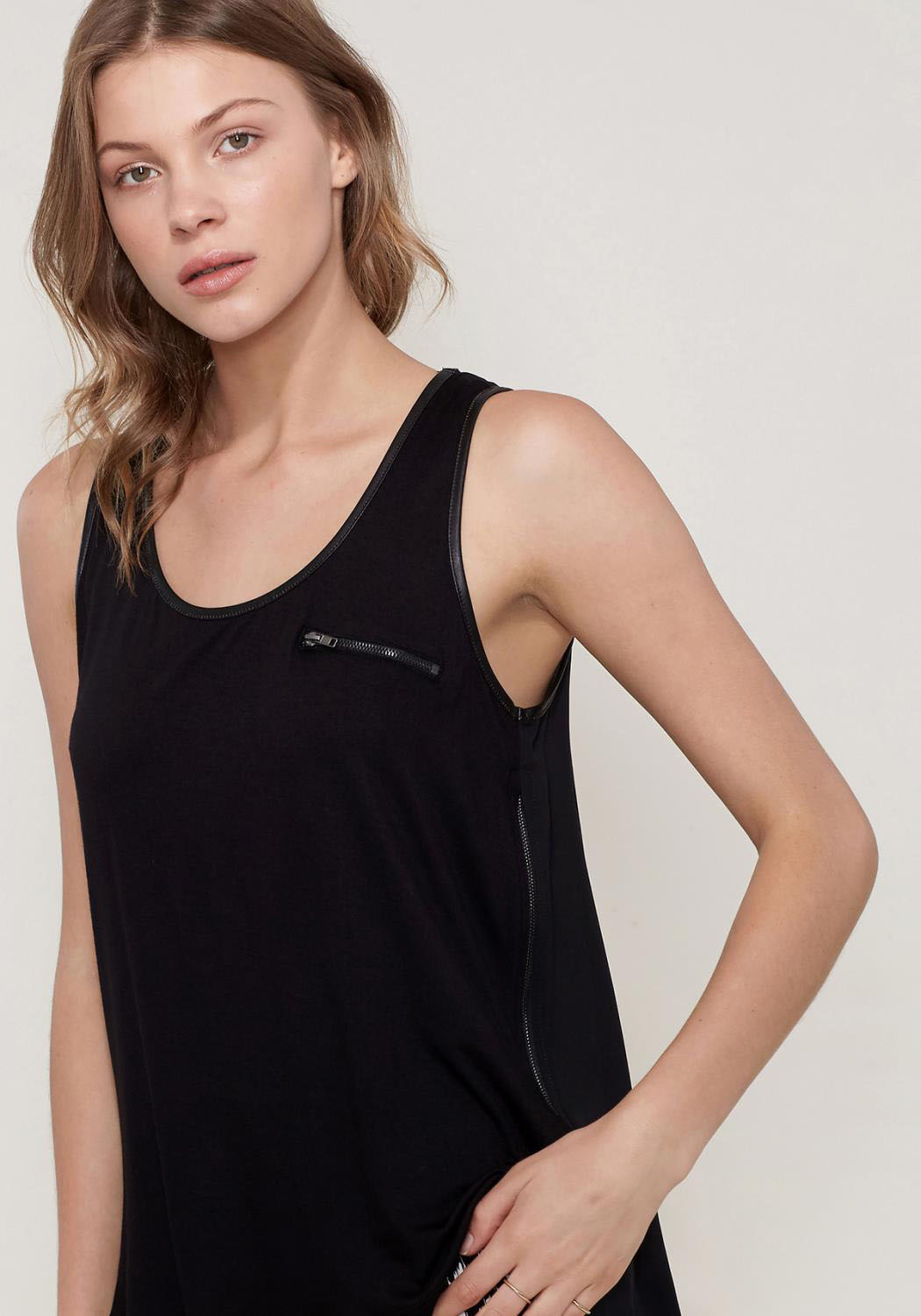 Ro&De Noir Sleeveless Top