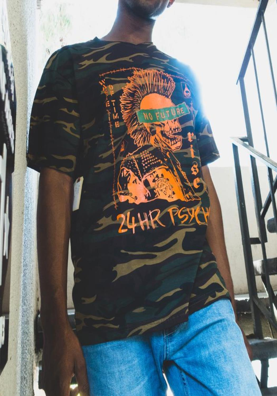 Blank State 24HR Psycho Tee