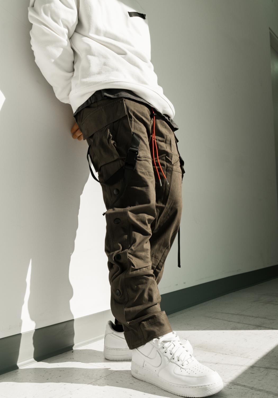 Blank State XTC Velcro Snap Button Cargo Pants
