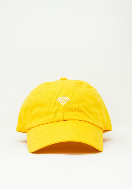 Diamond Supply Brilliant Sports Hat in Yellow