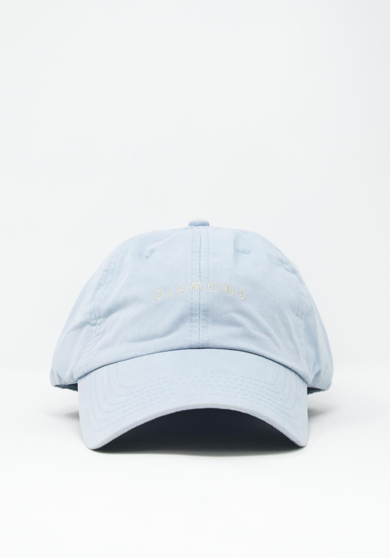 Diamond Supply Leeway Sports Hat in Sky Blue