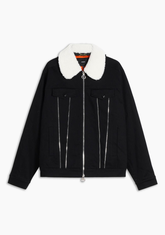 Sherpa Collard Trucker Jacket