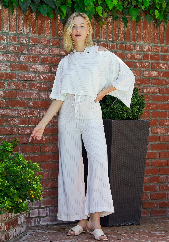 Tansy Stripe Jumpsuit