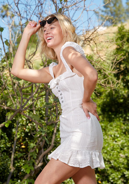 Tansy Pleated Midi Dress