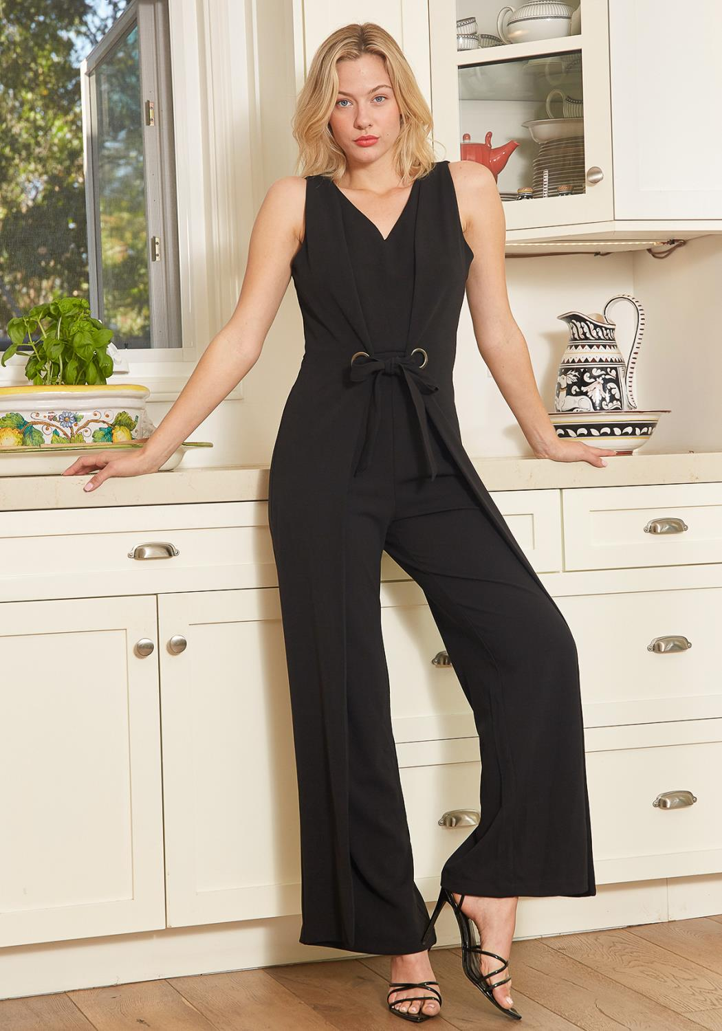 Tansy Sleeveless Jumpsuit