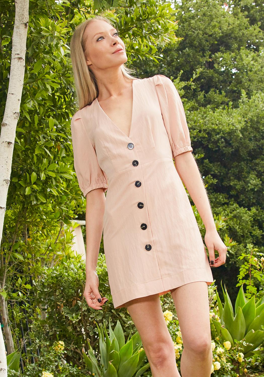 Tansy Button Up Sun Dress