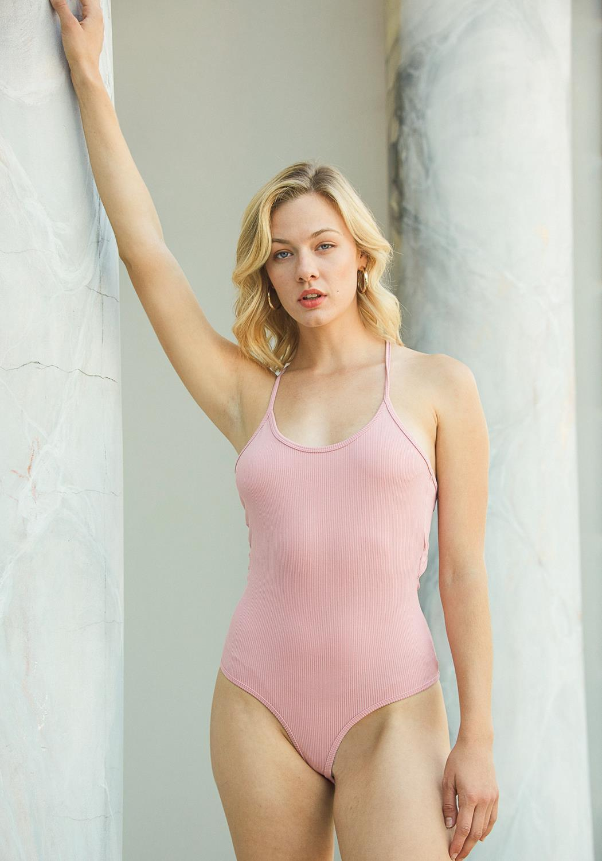 Tansy Ribbed Bodysuit