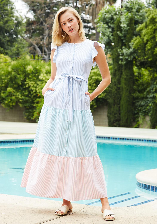 Tansy Button Down Maxi Dress