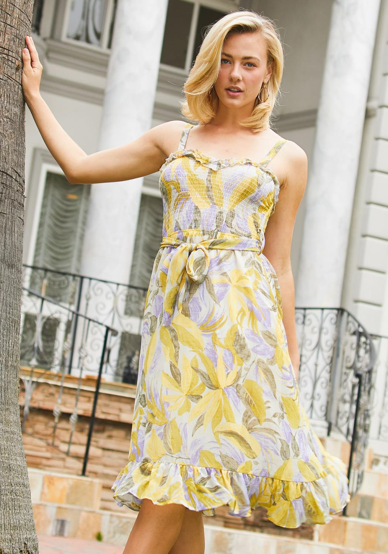 Tansy Smocked Sun Dress
