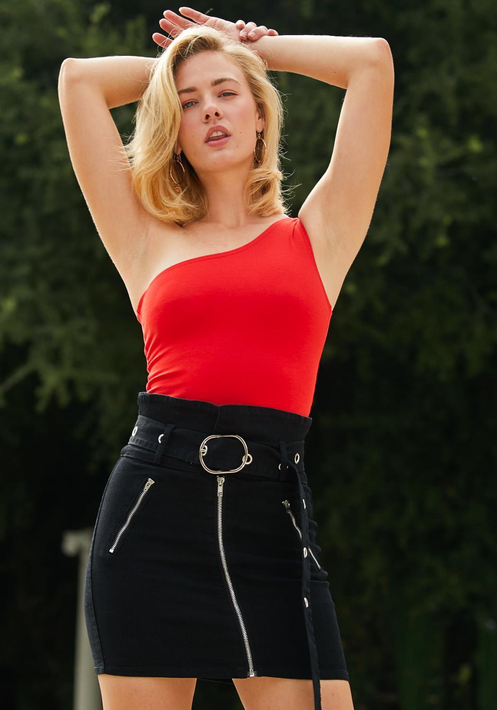 Tansy One Shoulder Bodysuit