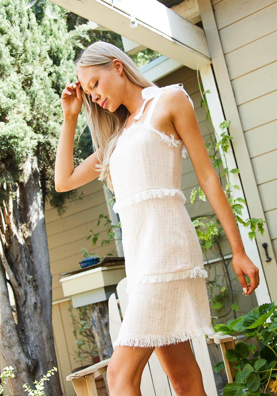 Tansy Fringe Mini dress