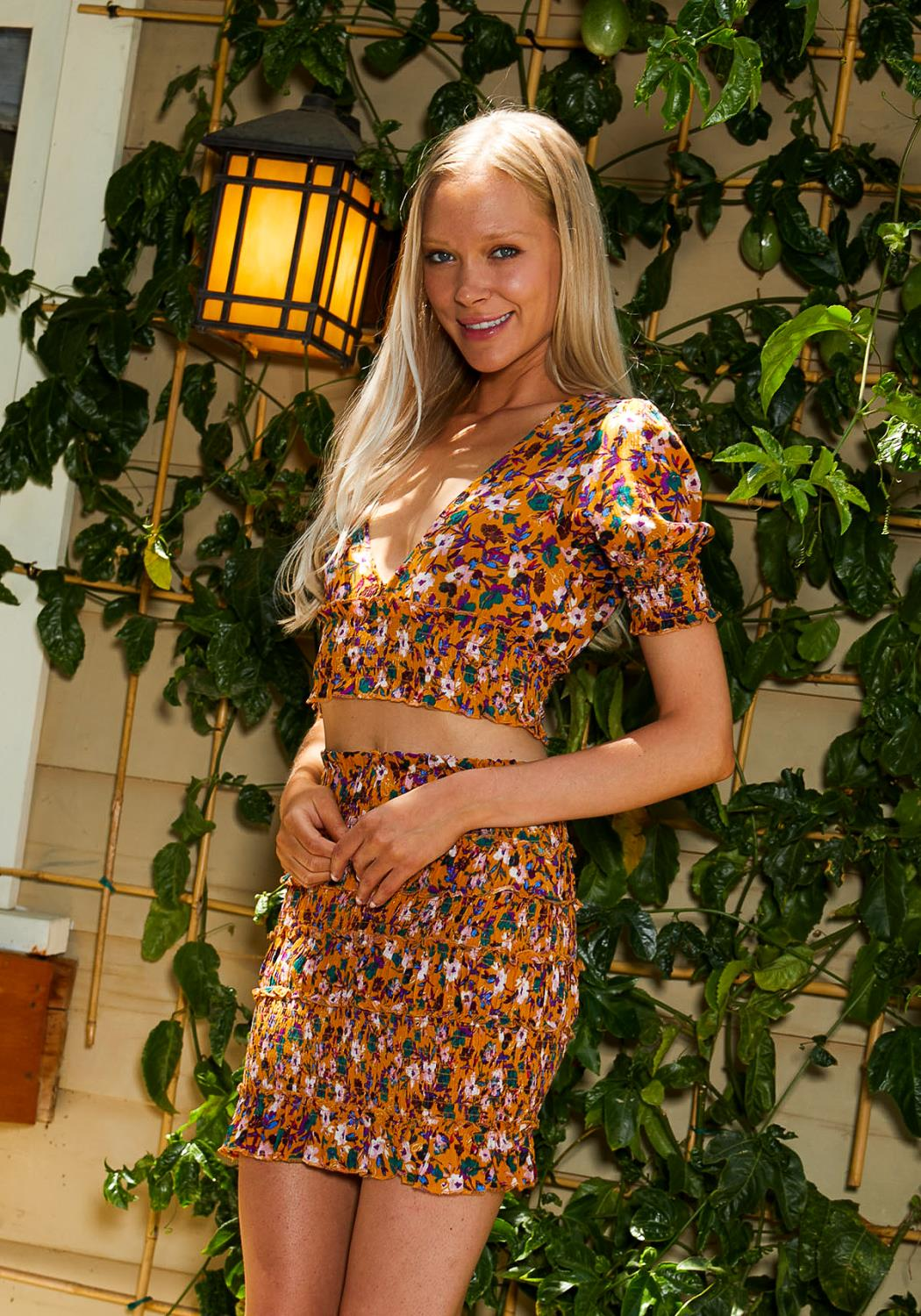 Tansy Multi Floral Two Piece Set