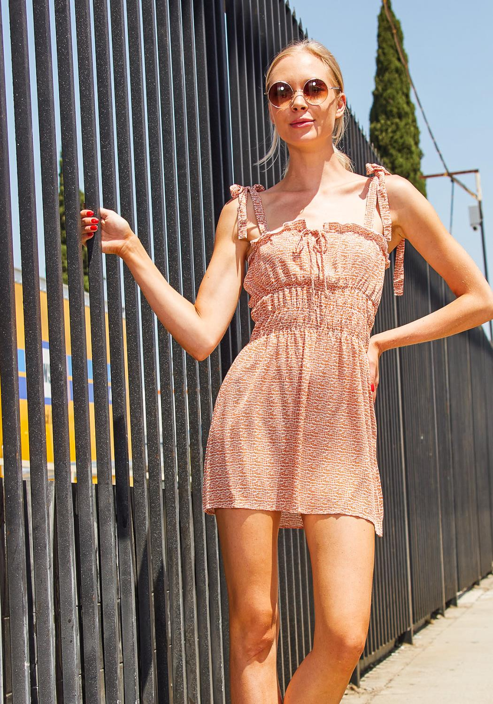Tansy Smocked Picnic Dress