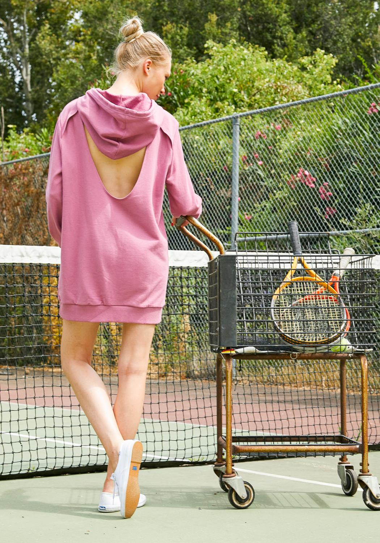 Tansy Oversized Women Hoodie Dress