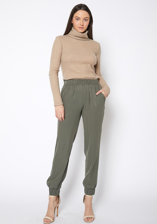 Ro & De Elastic Cuff Jogger Pants
