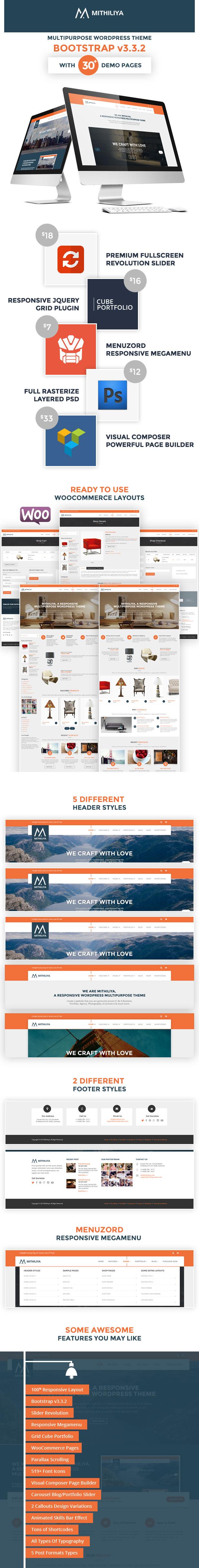 Mithiliya - Responsive Business WordPress Theme