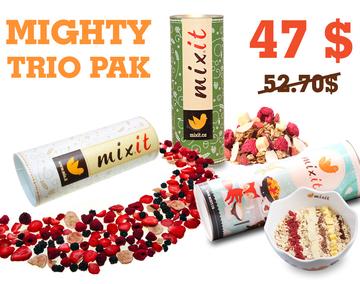 Meet the Mighty Trio Pak