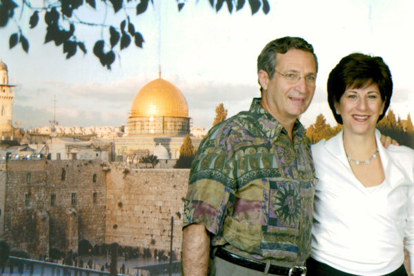 Norm and Susie Pappas have been to Israel many times.