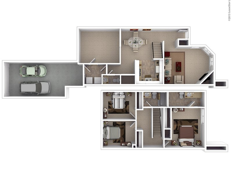 Floor Plans at Hunters Woods Apartments