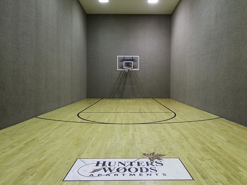 Basket Court | Hunters Woods Apartments