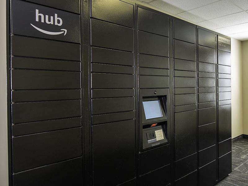 Amazon Locker Hub   644 City Station