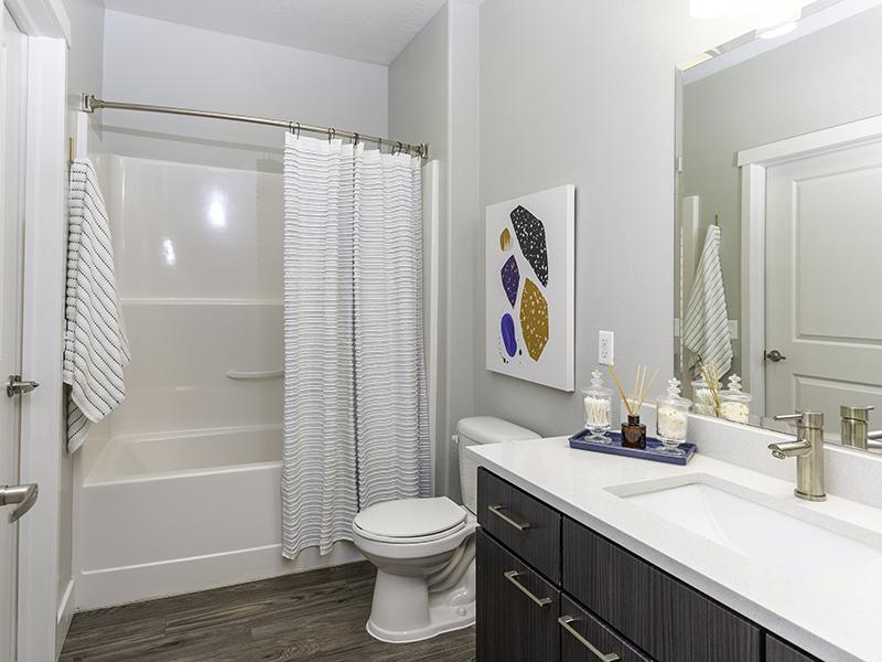 Beautiful Bathroom   644 City Station Apartments in Salt Lake City, UT
