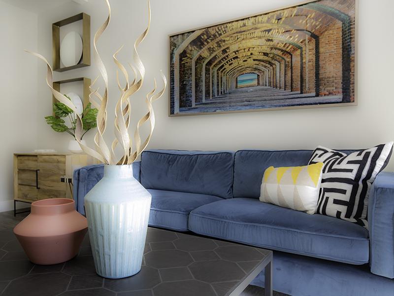 Living Room   644 City Station Apartments in Salt Lake City, UT