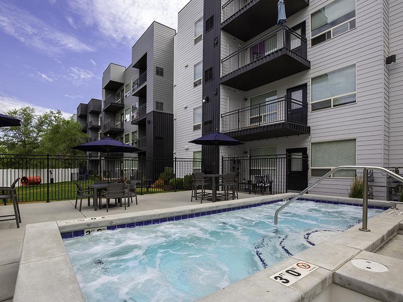 Hot Tub   644 City Station Apartments in Salt Lake City, UT