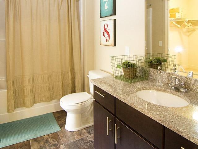 Bathroom | 644 City Station Apts Salt Lake City