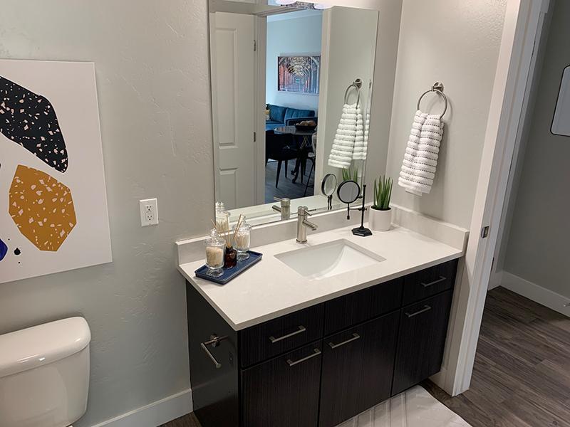 Bathroom Vanity   644 City Station Apartments in Salt Lake City, UT